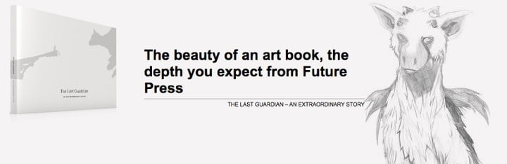 Le Artbook The Last Guardian : An Extraordinary Story disponible en précommande pour le 28 février 2017