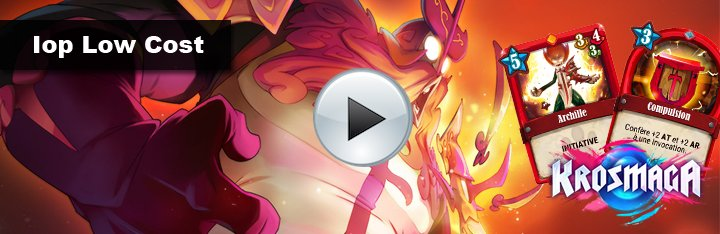 [VOD] Gameplay du deck Iop Low Cost Aggro/Rush par Gobelyn
