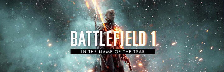 Nouveau DLC pour Battlefield 1 – IN THE NAME OF THE TSAR