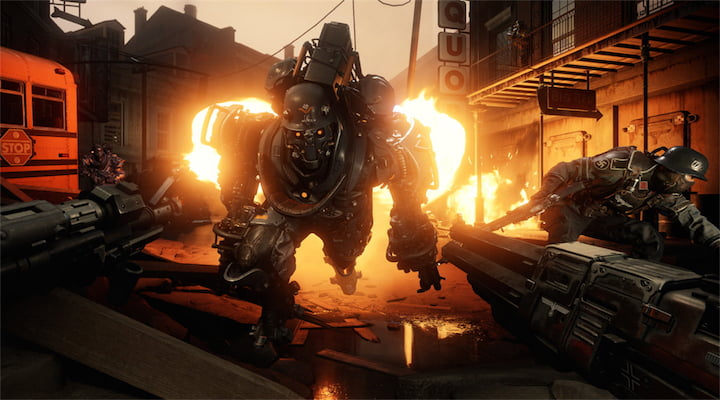 Wolfenstein 2 The New Colossus sur Nintendo Switch dispo le 29 Juin !