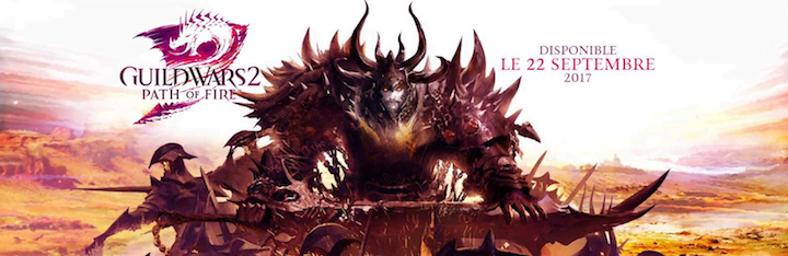 Path of Fire, la seconde extension de Guild Wars 2 se dévoile