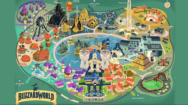 Détails de la map Blizzard World