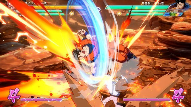 Dragon Ball FighterZ, Nouvelles images de Gotenks, Gohan et Majin Boo