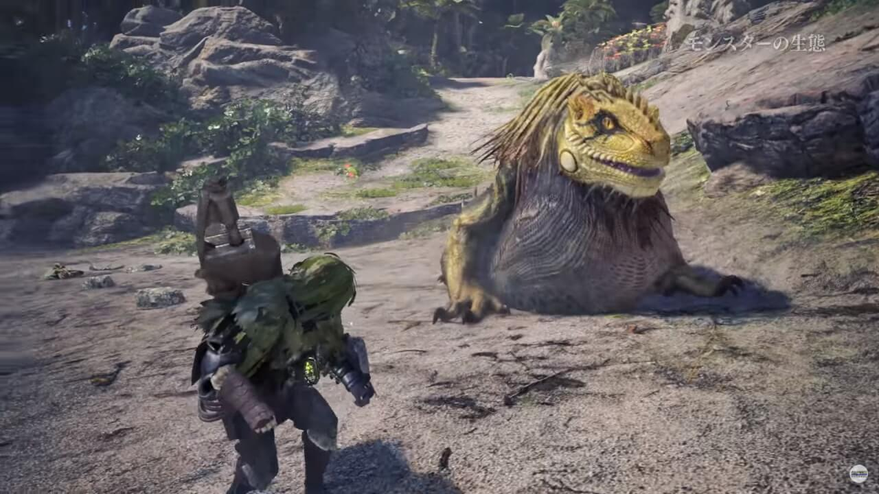 Monster Hunter World, un nouveau trailer de gameplay dévoilé !