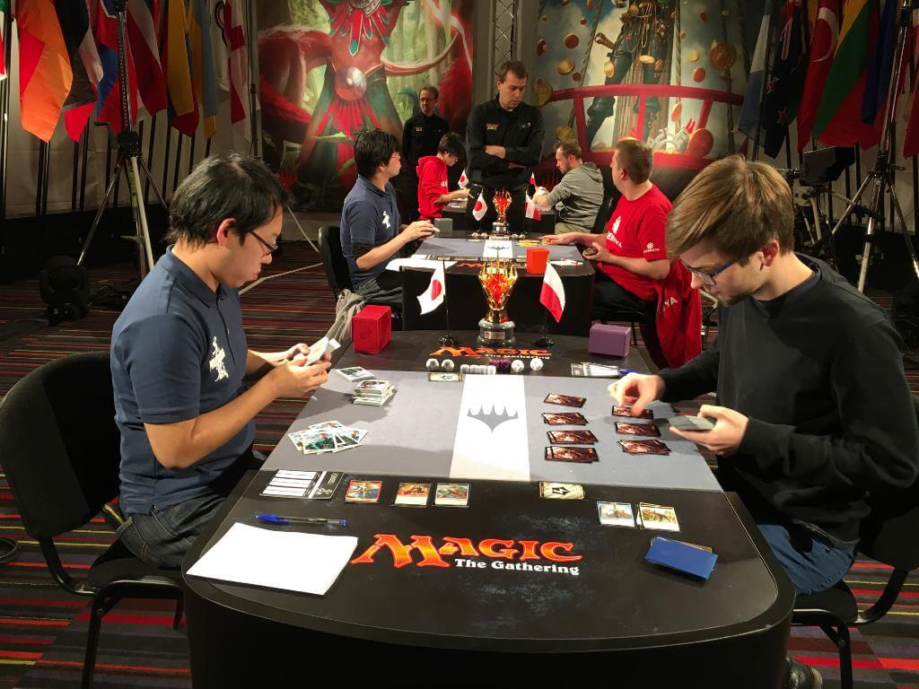 Magic the Gathering, le japon remporte les World Magic Cup 2017