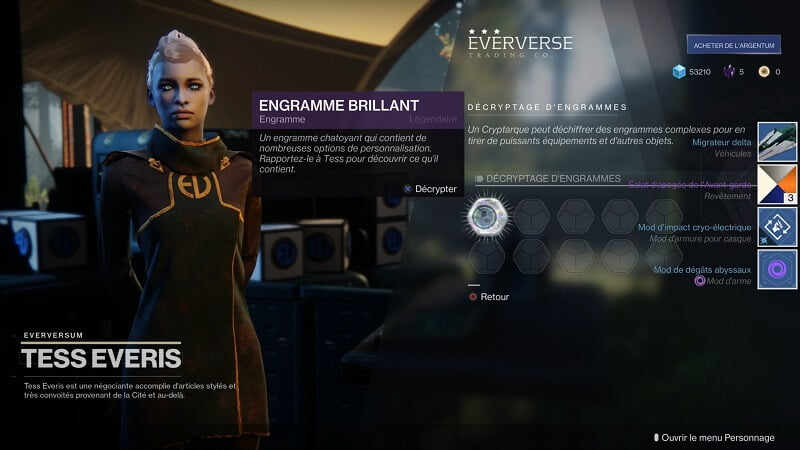 Destiny 2, la boutique Eververse va subir quelques changements