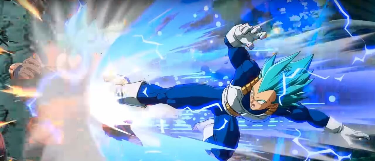 Dragon Ball FighterZ, découvrez le trailer de SSGSS Vegeta !