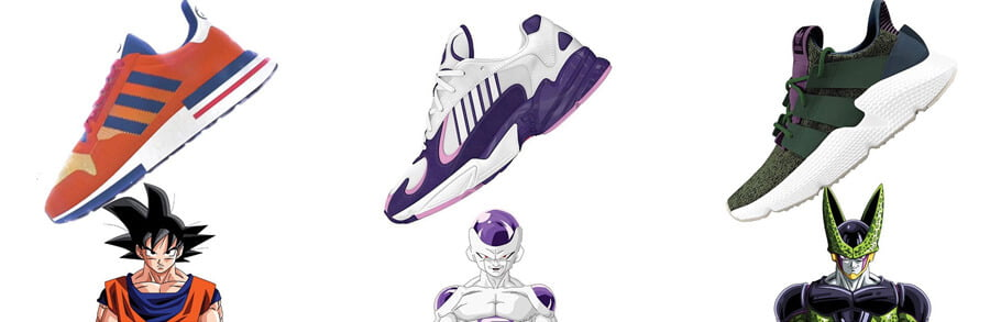 basket nike dragon ball z