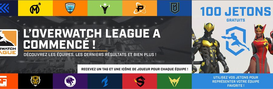 Overwatch, Gagnez des skins de la League Overwatch en regardant Twitch