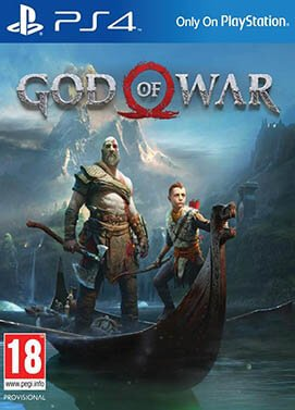 Jacquette du jeu God of War 4