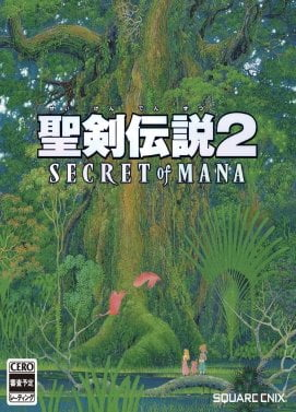 Jacquette du jeu Secret of Mana