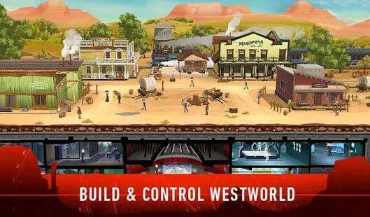 Westworld mobile, build et controls