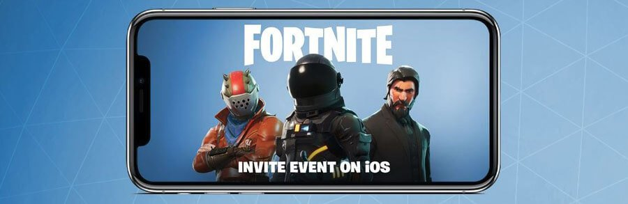 Fortnite : Epic Games annonce une version sur mobile iOS et Android !