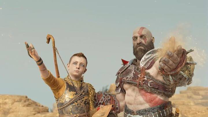 God of War - Cendres de l'épouse de Kratos et la mère d'Atreus