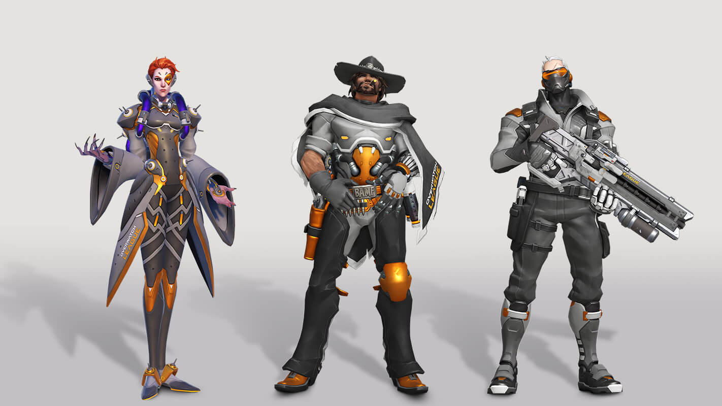 League Overwatch, découvrez les skins du All Access Pass de Twitch