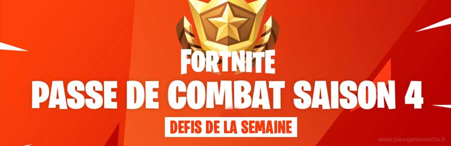 Fortnite - Saison 4 - Semaine 6 - Trouver les affiches Omega & Carburo