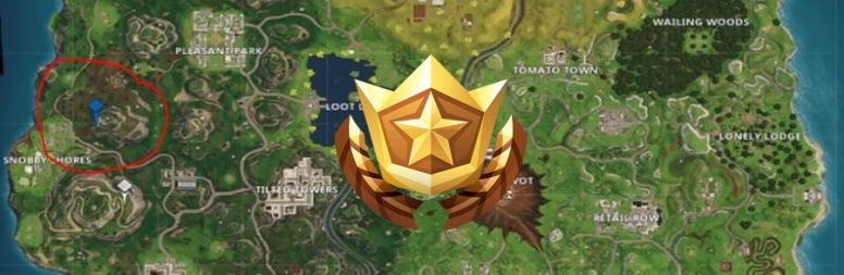 Guide Fortnite : Saison 4 – Semaine 5 – Carte au trésor Greasy Groove