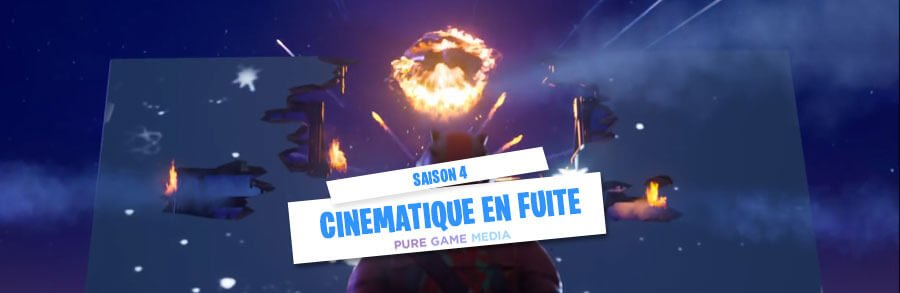 Fortnite Saison 4 : Trailer d'introduction de la mise à jour 4.0