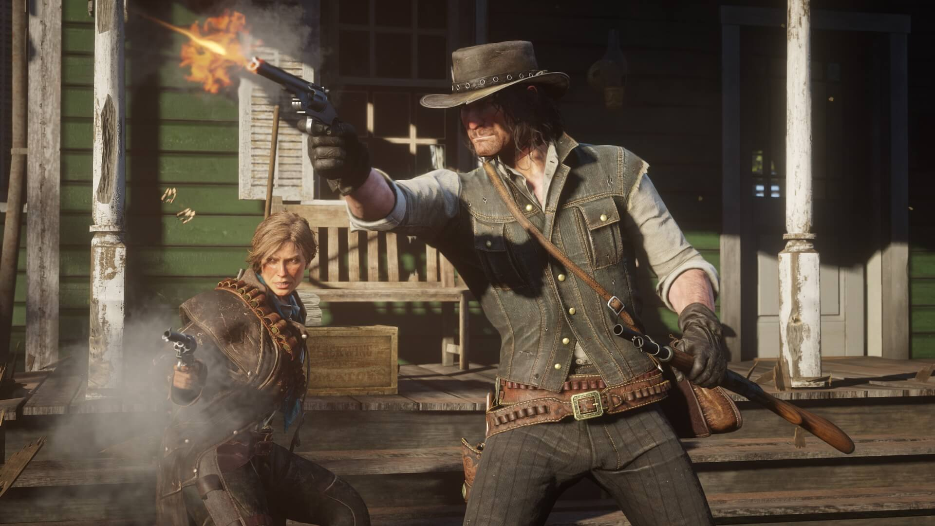 Red Dead Redemption 2 : Leak vidéo de Gameplay, fusillade et interface