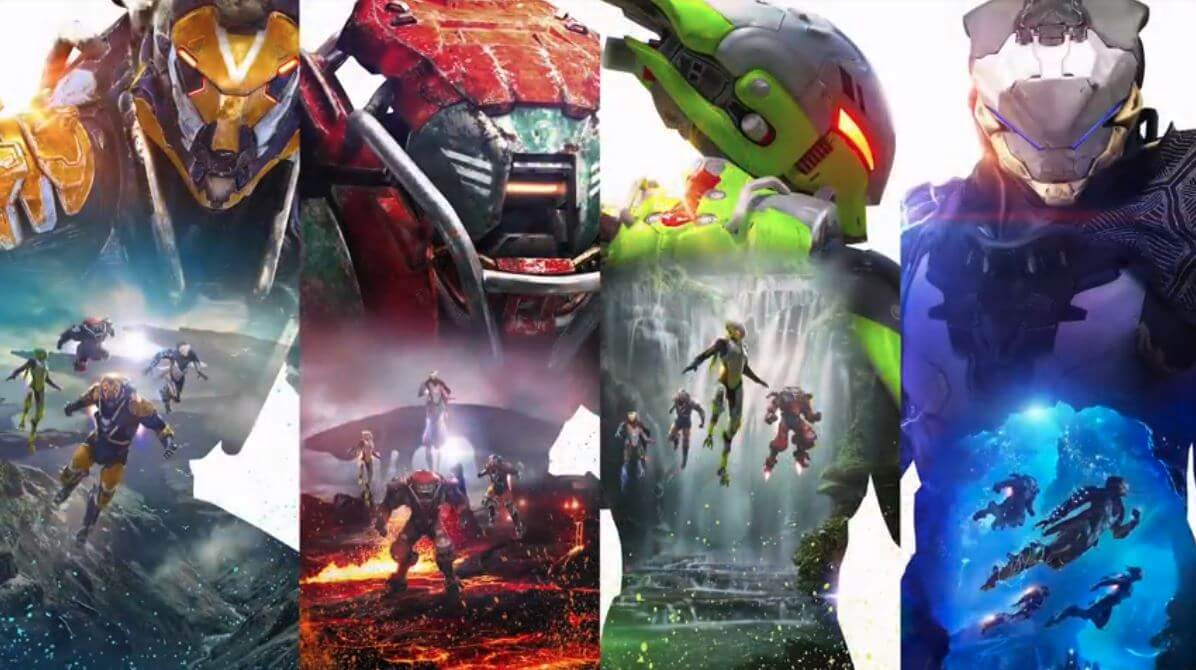 Anthem, date de sortie, trailer, gameplay, classes & personnalisation