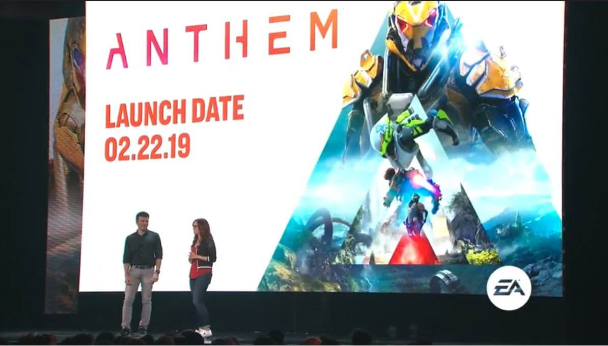 E3 2018 : Anthem, trailer, gameplay, classes et personnalisation