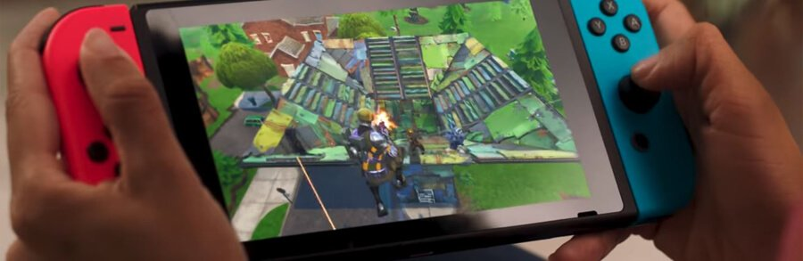 Fortnite Battle Royale déjà disponible sur Switch avec un trailer
