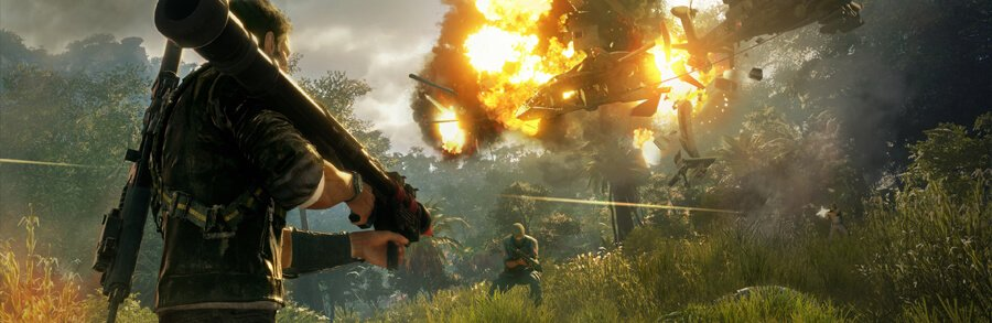 Just cause 4 lâche une session de gameplay à l'E3 2018