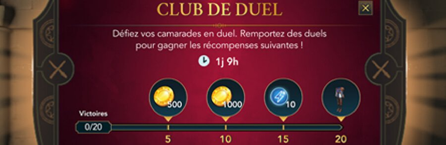 Harry Potter Hogwarts Mystery : nouvelle version du Club des Duels
