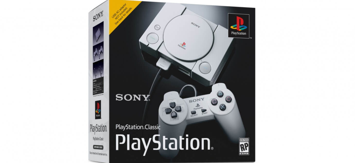 PlayStation Classic : Sony surf sur la vague rétro gaming !