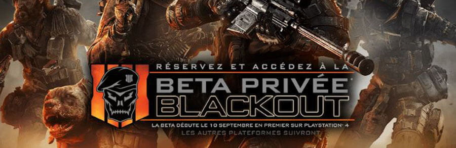 Call of Duty Black Ops 4 : Blackout, carte, horaires bêta, détails