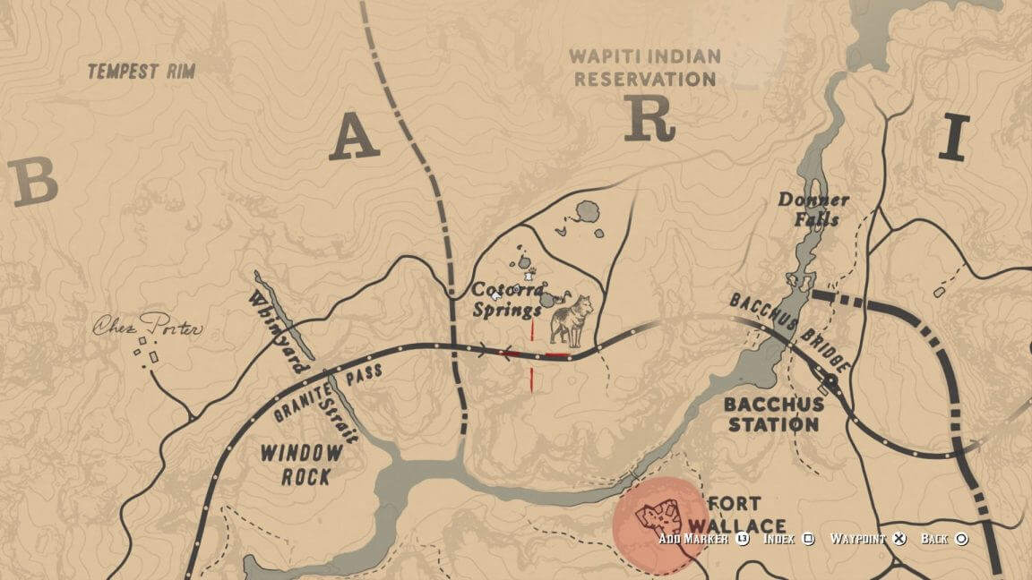 Red Dead Redemption 2 Guide : Carte au trésor du gang de Jack Hall