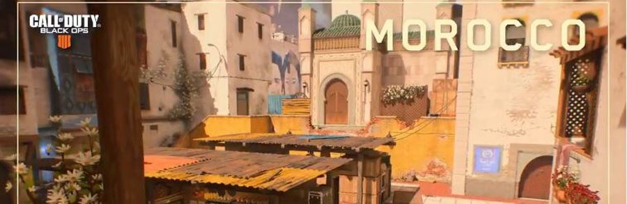 Call of Duty Black Ops 4 Multijoueur : Teaser de la carte Morocco