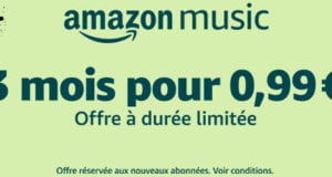 Black Friday 2018 : Amazon Music Unlimited – 3 mois à 0,99 €
