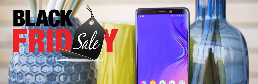 Black Friday 2018, Bons plans Rakuten, Samsung Galaxy A9 (2018) à 460€