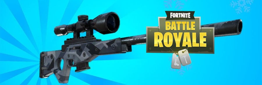 Fortnite : Le Fusil-Sniper Frostbite revient en mode Battle Royale