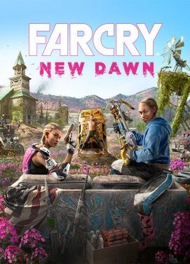 Jacquette du jeu Far Cry New Dawn