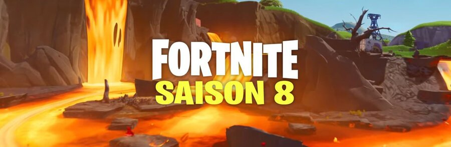 Fortnite – Semaine 1 – Saison 8 – Emplacements des Geysers