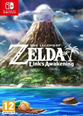 Jacquette du jeu The Legend of Zelda: Link's Awakening