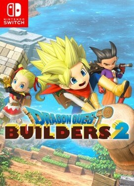 Jacquette du jeu Dragon Quest Builders 2
