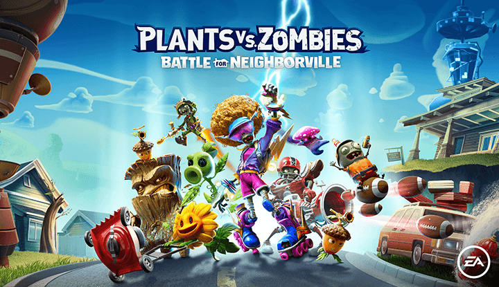 Plants VS Zombies : La bataille de Neighborville Edition Bûche Glacée