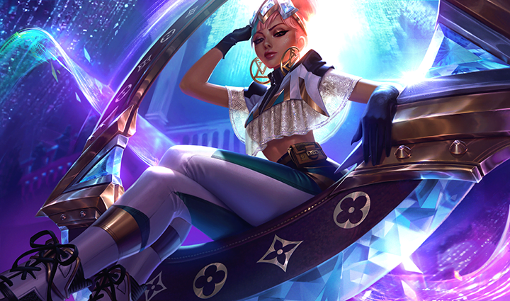 League of Legends - LoL - Nouveau groupe et Skins Louis Vuitton