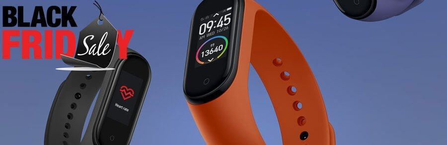 Black Friday 2019 – montre connectée – La Mi Band 4 de Xiaomi à 27 € !