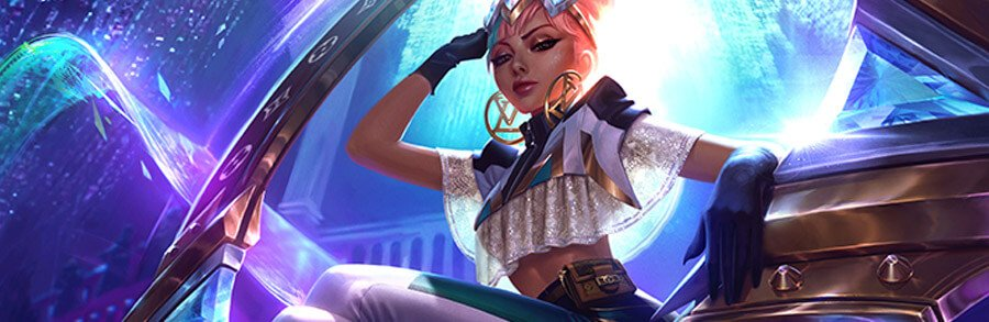League of Legends – LoL – Nouveau groupe et Skins Louis Vuitton