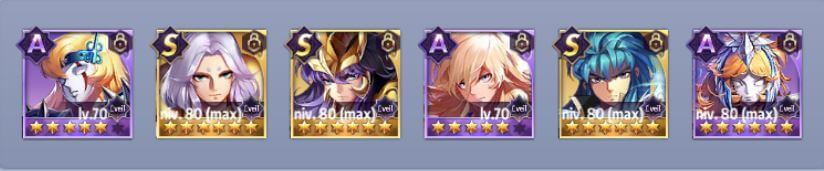 Saint Seiya Awakening - Top 15 - Quelle team pour le Duel Galactique ?
