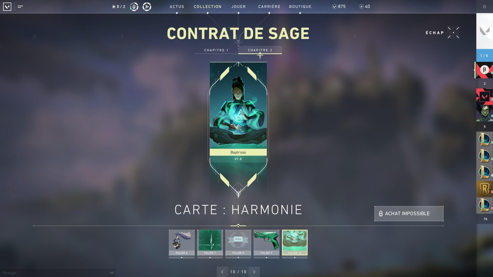 Valorant - Passe de combat, contrat, boutique, skins, Valorant points