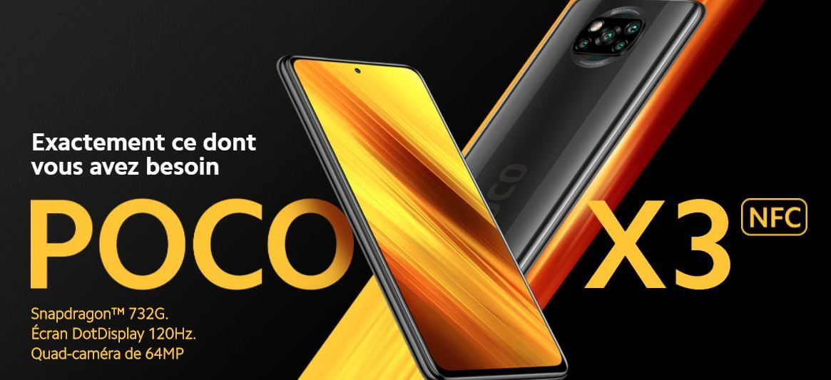 Black Friday 2020 - Gearbest propose le Poco X3 à 177€, on fonce !